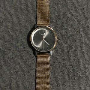 Fossil Watch-Rose Gold